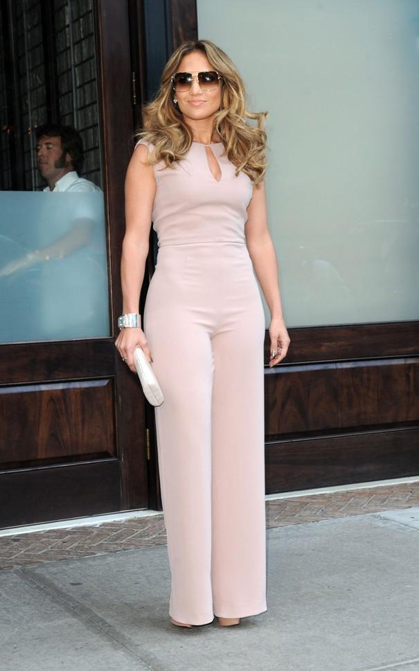 Jennifer Lopez w kombinezonie MaxMara