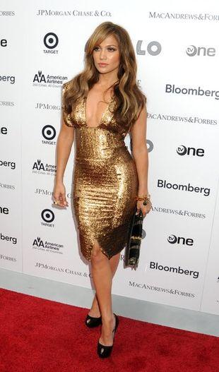 Złota Jennifer Lopez