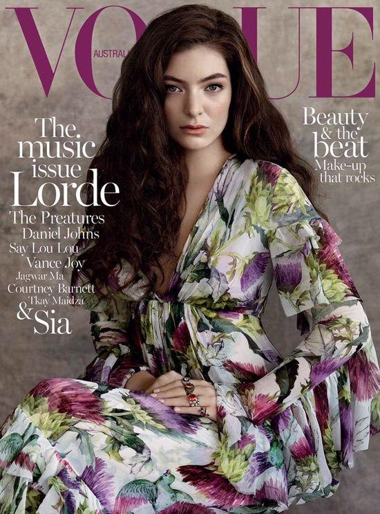Lorde na okładce Vogue! (FOTO)