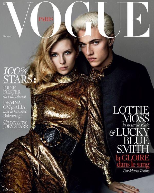 Lottie Moss pierwszy raz na okładce magazynu Vogue