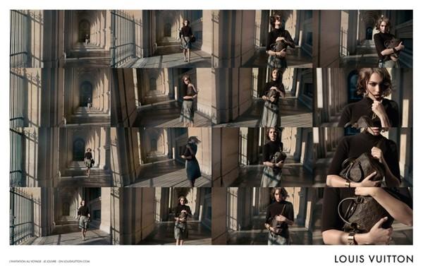 Kolejne zdjęcia Arizony Muse dla Louis Vuitton
