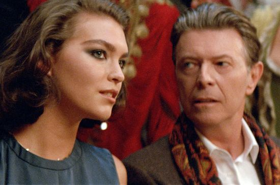 David Bowie & Arizona Muse w kampanii Louis Vuitton (FOTO)