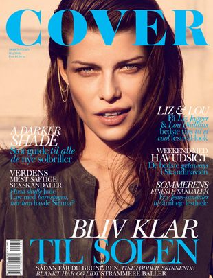 Louise Pedersen w Cover Magazine