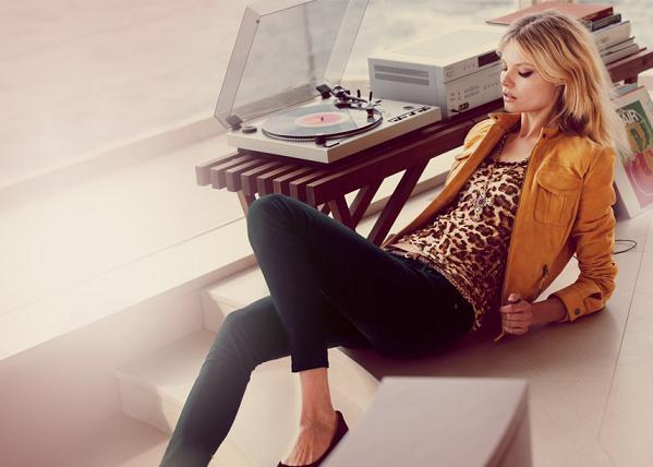 Magda Frąckowiak w kampanii dżinsów Lucky Brand
