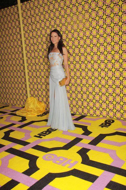 Lucy Liu w Atelier Versace (FOTO)