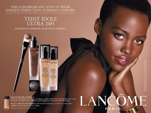 Lupita Nyong'o dla Lancôme! (FOTO)