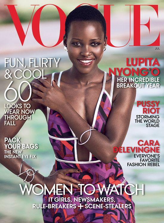 Lupita Nyong'o trafiła na okładkę Vogue'a! (FOTO)