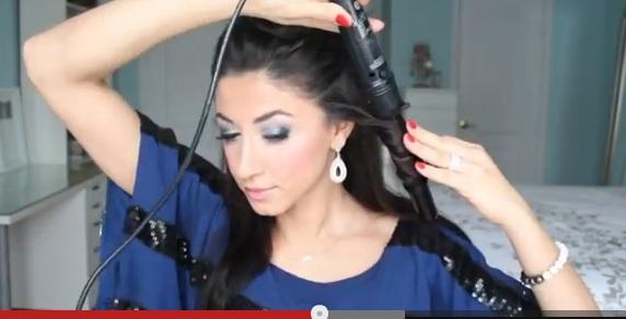 Prosty sposób na sylwestrową fryzurę