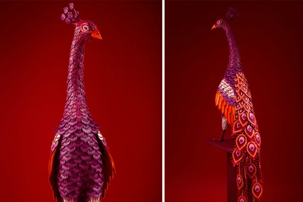 Magiczne dekoracje w butiku Hermes w Szanghaju (FOTO)