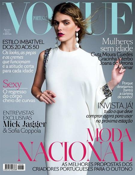 Pierwsza porcja sierpniowych okładek Vogue'a