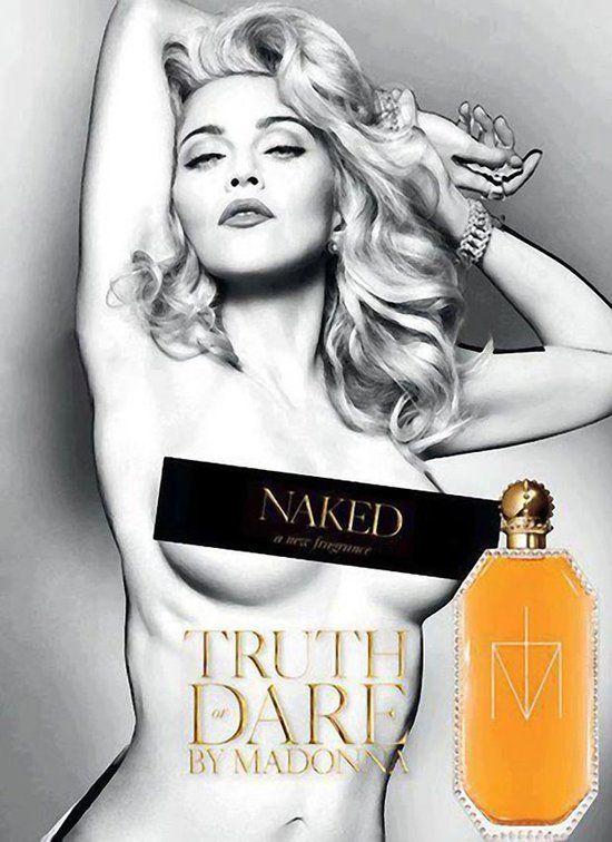 Naga Madonna reklamuje swoje nowe perfumy  (FOTO)