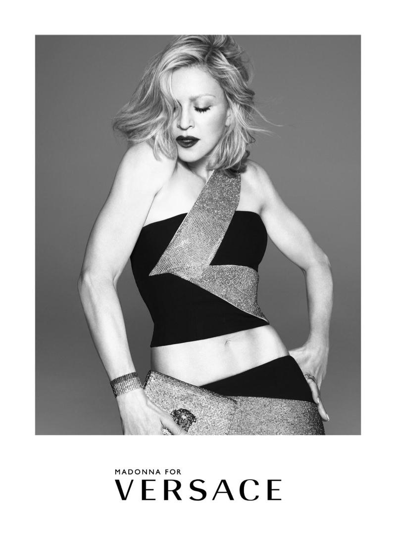 Donatella o Madonnie dla Versace: NIE było retuszu!