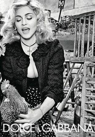 Madonna jak Anna Magnani