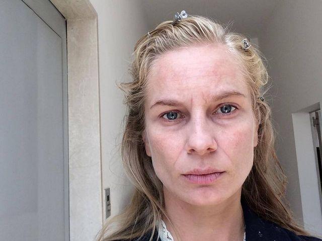 Magda Cielecka straszy bez makijażu (FOTO)
