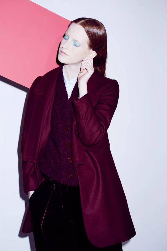 Magda Jasek w kampanii Sonii Rykiel