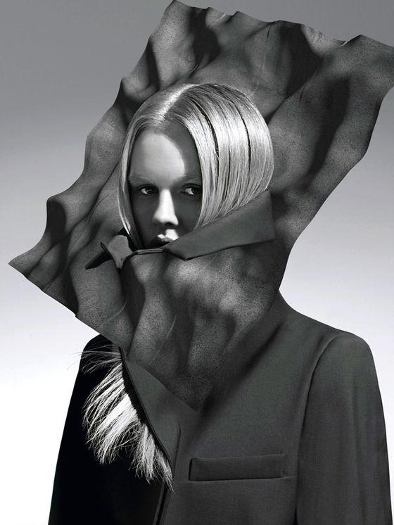 Magda Roman na okładce magazynu Label