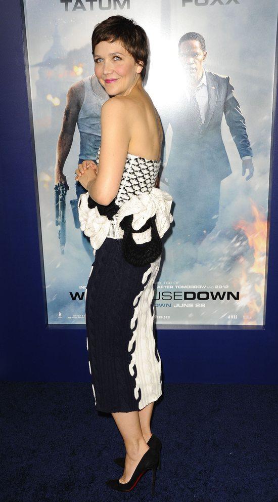 Maggie Gyllenhaal w sukni Diora