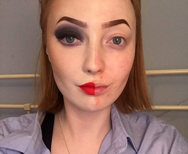Blogerka pokazała fotki bez makijażu i zalała ją fala hejtu