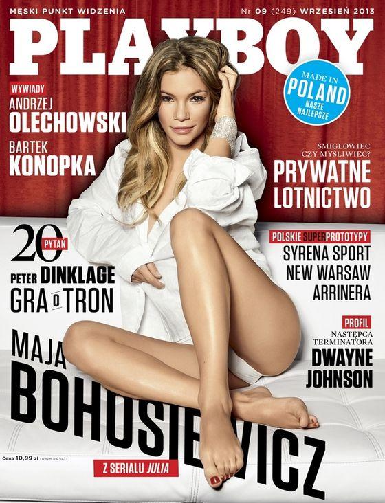 Maja Bohosiewicz na okładce Playboy'a (FOTO)