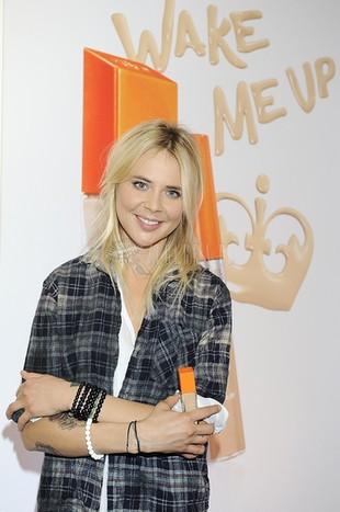 Maja Sablewska w wersji bardzo jasny blond