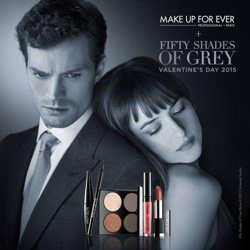 Makijaż 50 twarzy Grey'a od Make Up Forever! (FOTO)