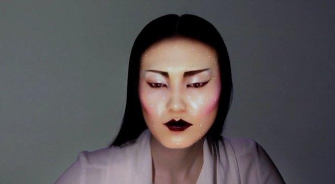 Czy tak wygląda przyszłość makijażu? (VIDEO)
