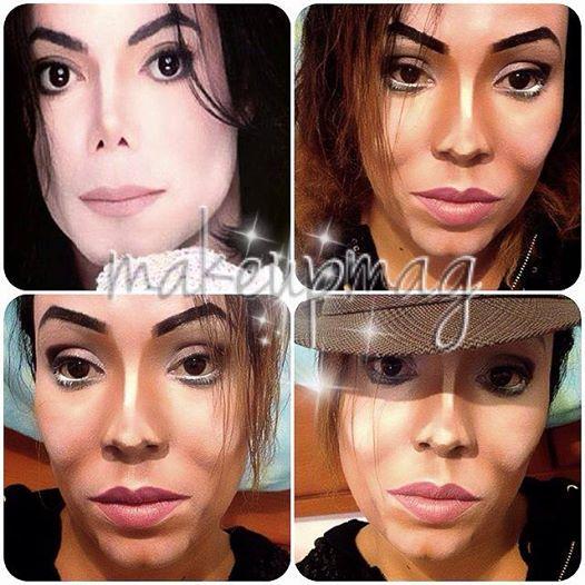 Ta mistrzyni makijażu potrafi zamienić sie w każdą gwiazdę!