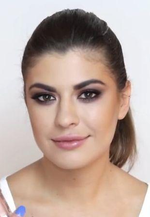 makijaż na opadającą powiekę
