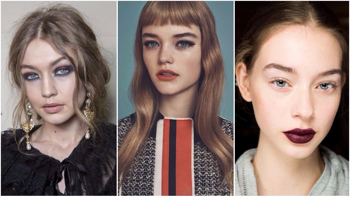 Zobacz Najlepsze Trendy W Makijażu Jesień Zima 20172018 Zeberkapl