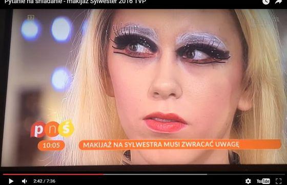 A jednak... Koszmarny makijaż z PNŚ w wydaniu KatOsu wyglada obłędnie (VIDEO)