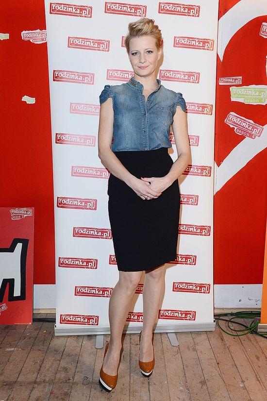 Małgorzata Kożuchowska w jeansie (FOTO)