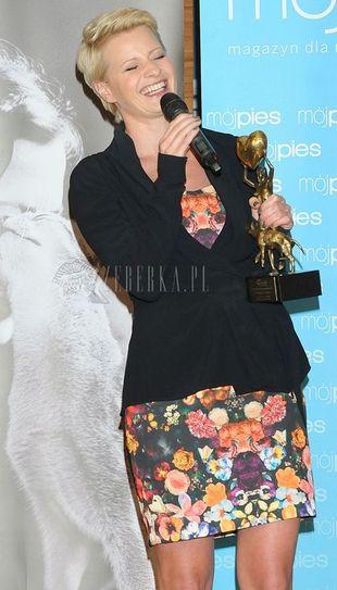 Małgorzata Kożuchowska w mini (FOTO)