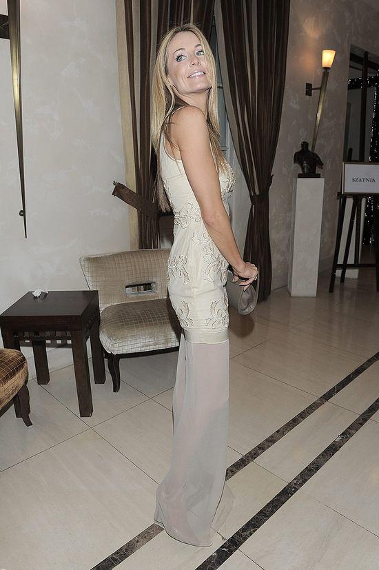 Małgorzata Rozenek w prześwitującej sukni (FOTO)