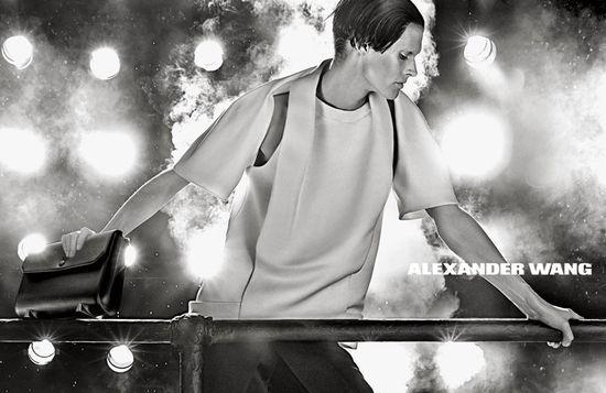 Małgosia Bela w kampanii Alexander Wang jesień 2013