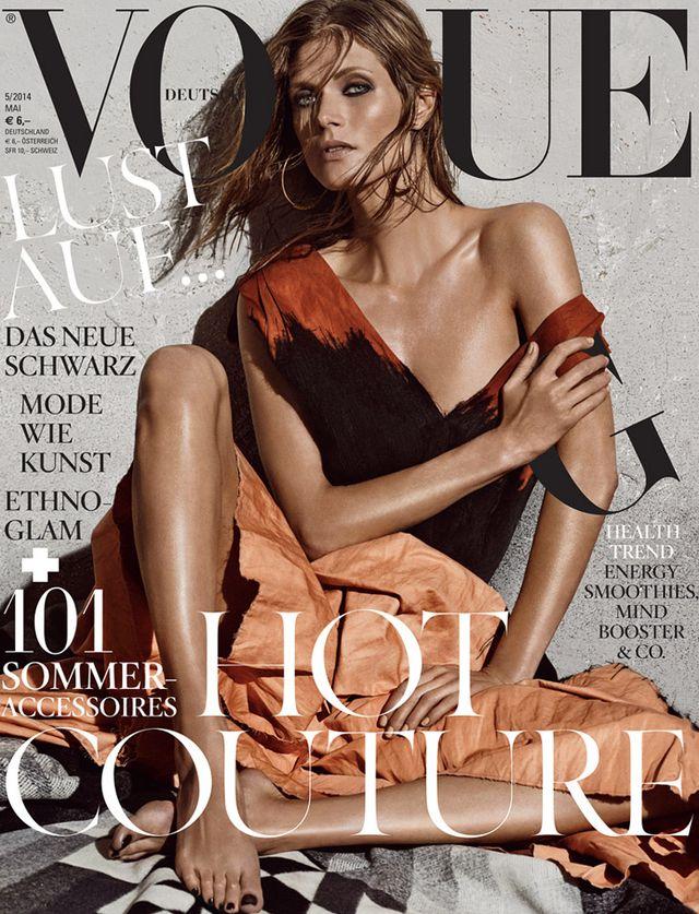 Gosia Bela zaliczyła kolejny okładkowy sukces w Vogue'u