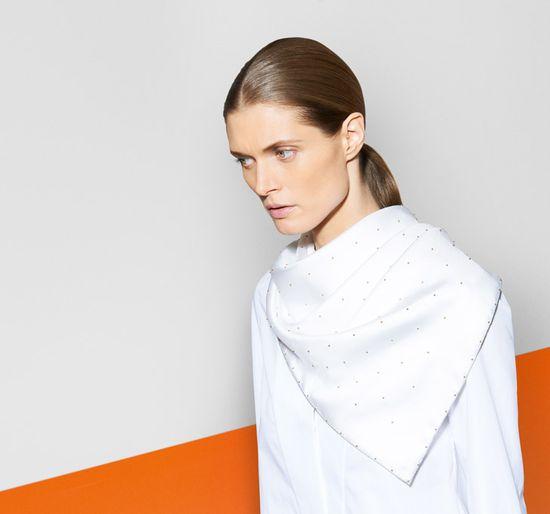 Małgosia Bela w katalogu marki Hermes na jesień 2013