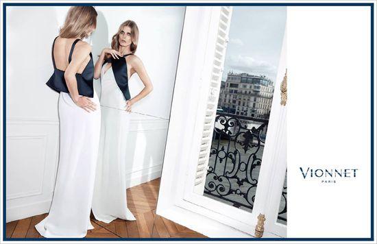 Małgosia Bela w kampanii marki Vionnet
