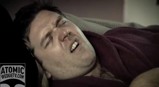 Gdy mężczyzna jest przeziębiony… (VIDEO)