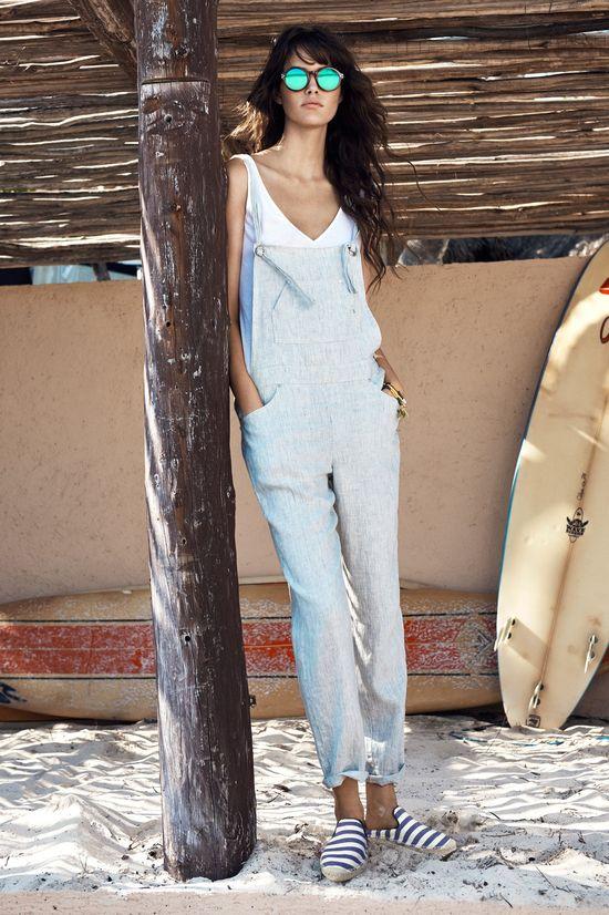 Nowa letnia kolekcja Mango w stylu marynarskim - Surf girl