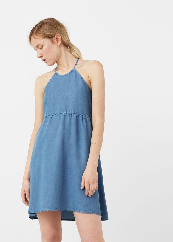 10 modnych krótkich dżinsowych sukienek na jesień 2016
