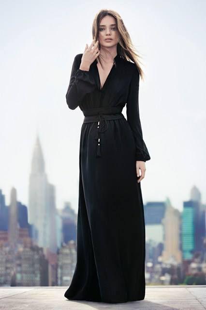 Miranda Kerr w kampanii Mango jesień 2013