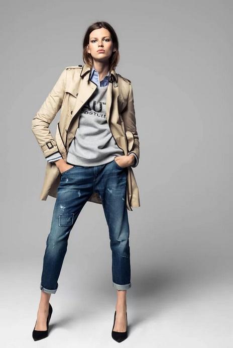 Bette Franke w kampanii Mango na jesień 2013