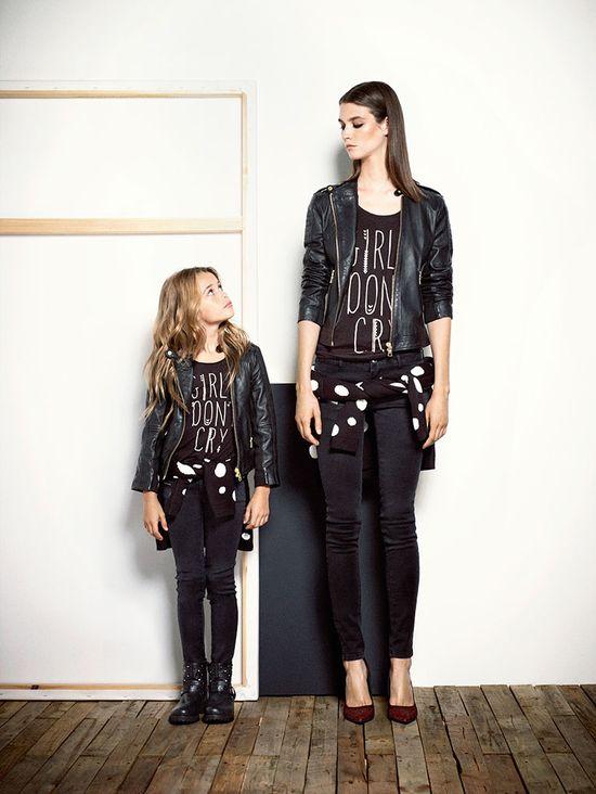 Mango - moda dla mamy i córki na jesień 2013