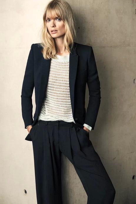 Julia Stegner w kampanii Mango jesień-zima 2013/14
