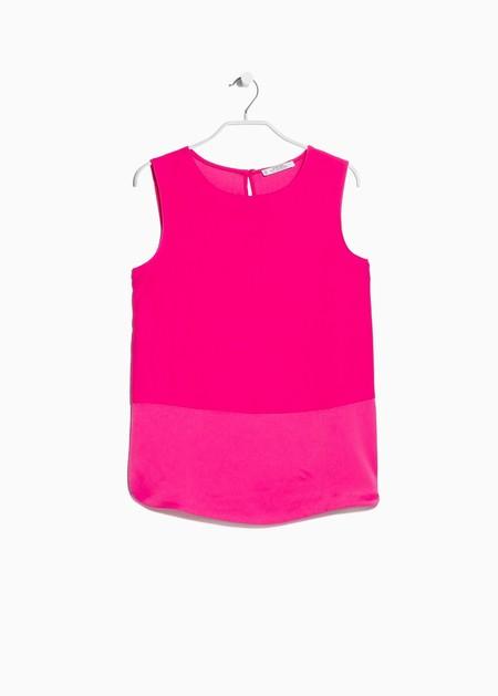 Ubrania i dodatki w kolorze fuksji