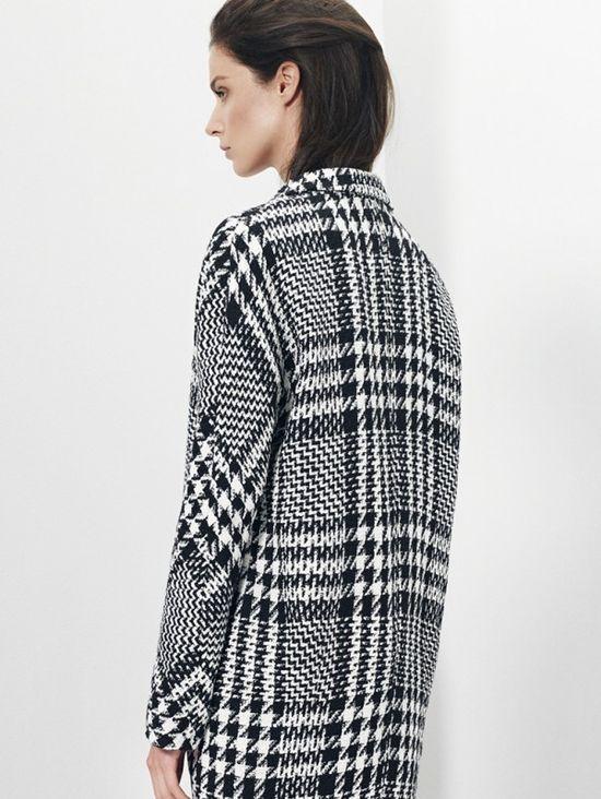 Mango Black & White lookbook jesień-zima 2013/14