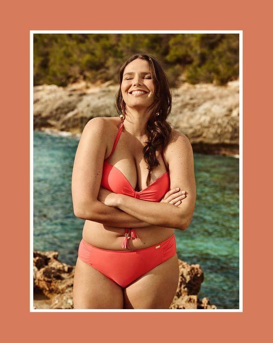 Mango Violeta - Stroje kąpielowe plus size na lato 2016