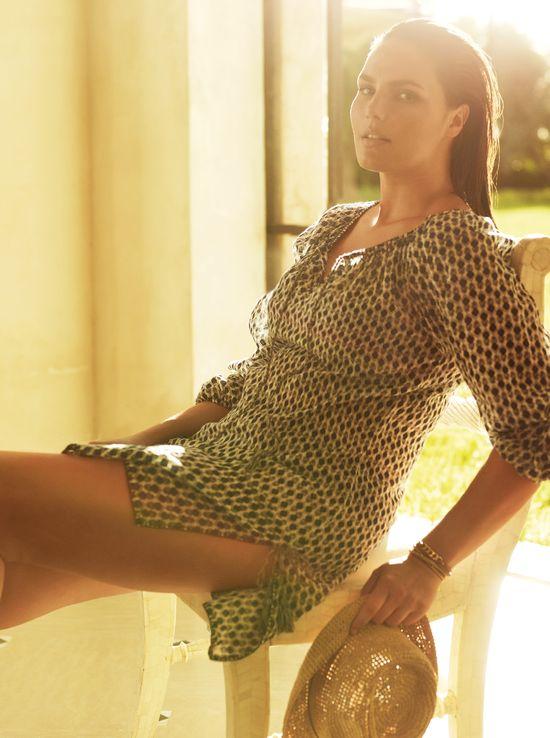 Mango Violeta - Boska Candice Huffine w strojach kąpielowych
