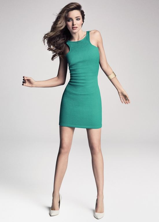 Miranda Kerr w nowym lookbooku Mango