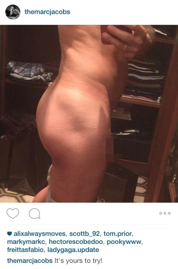 Marc Jacobs pokazał fanom na instagramie... penisa